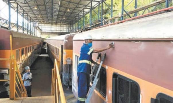 Ferrovia Rio Minas - restauração