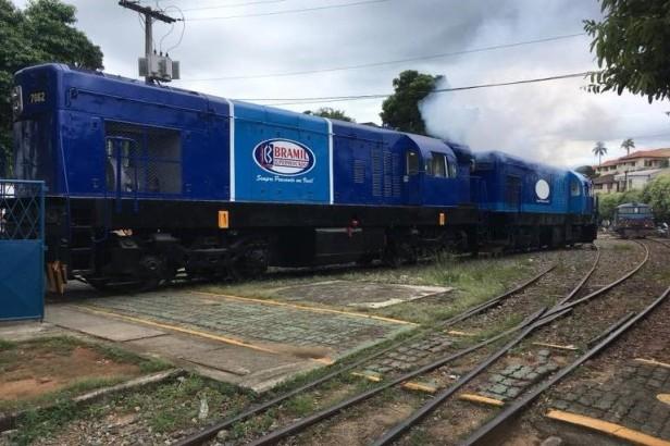 Locomotiva principal Rio minas